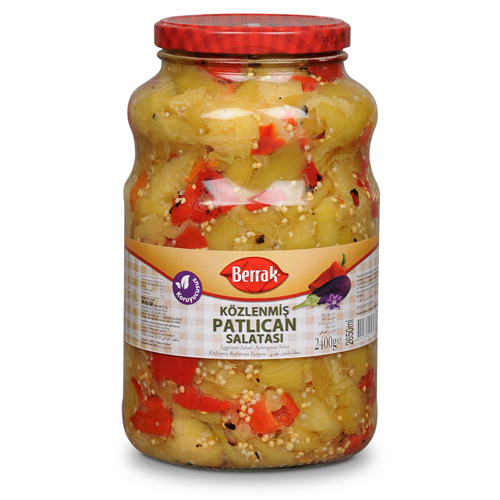 Közlenmiş Patlıcan Salatası 2650 ml Cam